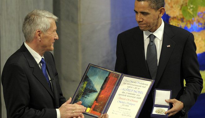 The ex-secretary for the Nobel Peace Prize says he deeply regrets giving Obama the award in 2009