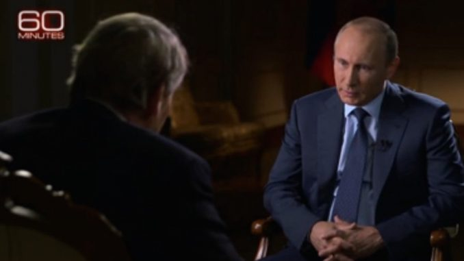 Russian president Vladimir Putin goes on U.S. national television ahead of his UN address
