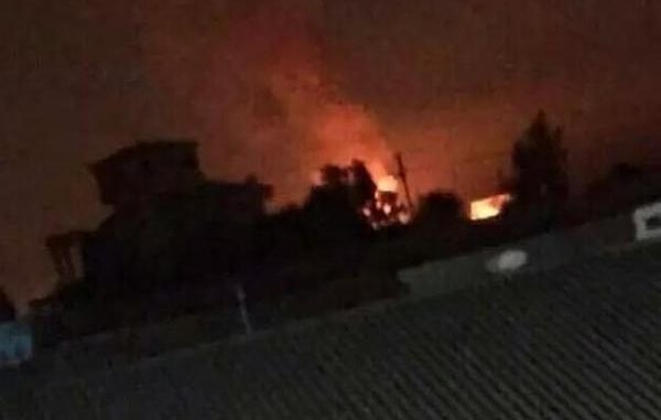 Reports of rockets being fired towards Baghdad International airport