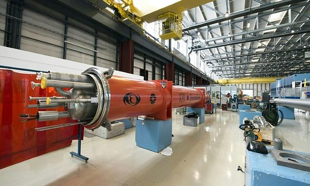 China build a 'megacollider' twice as large as CERN's LHC