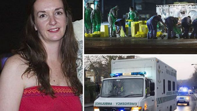 Ebola nurse is back in hospital again and said to be in a 'critical condition'