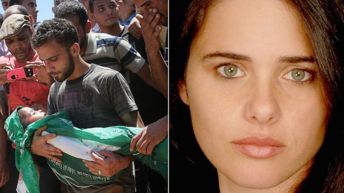 An Israeli minister has said she wants to imprison kids as young as 13