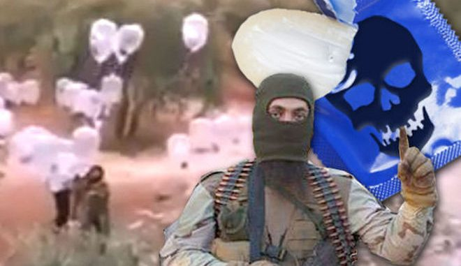 The new bizarre weapon from ISIS: Flying condom bombs