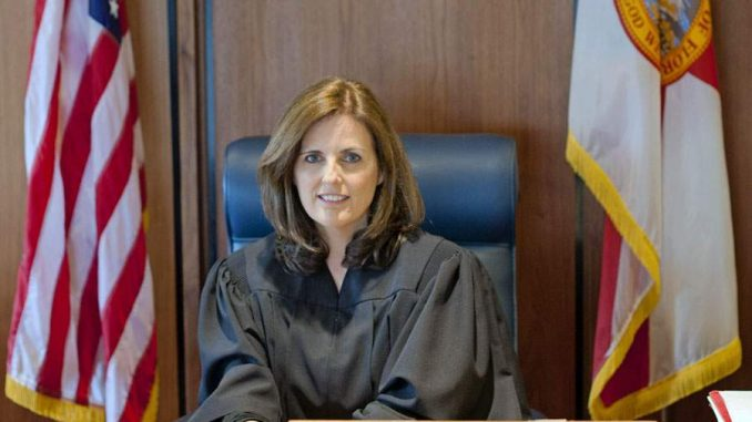 Judge Jerri L. Collins sentenced an abuse victim and mother of one to 3 days in jail for being in contempt of court