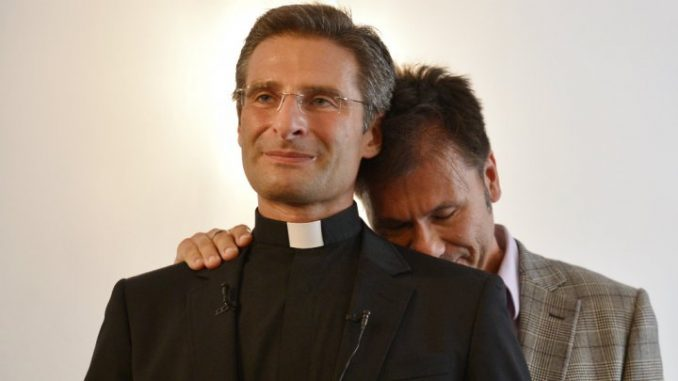 from Kase gay priest fired