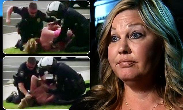 California woman files lawsuit after LAPD punch her in the face in front of her children
