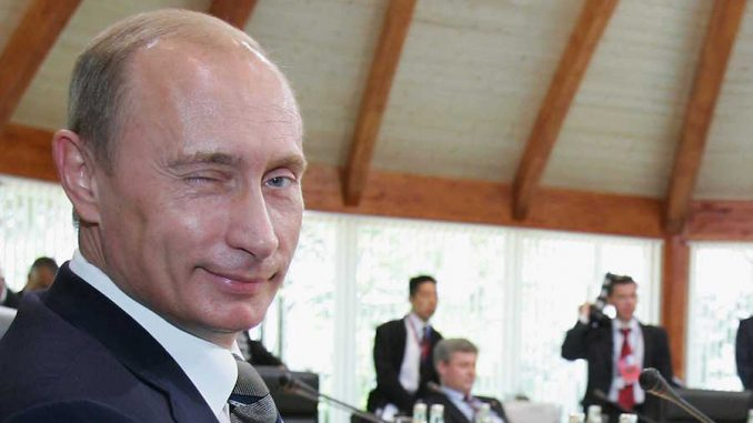 Russian President Vladimir Putin has announced that global warming is a big fraud
