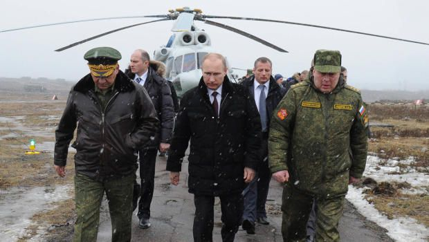 The European council say Russia's military power has been underestimated by the West