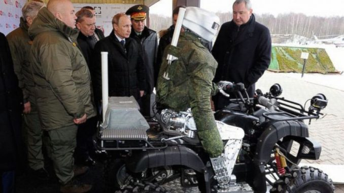 Russia have announced plans to create an army of robots within the next 2 years