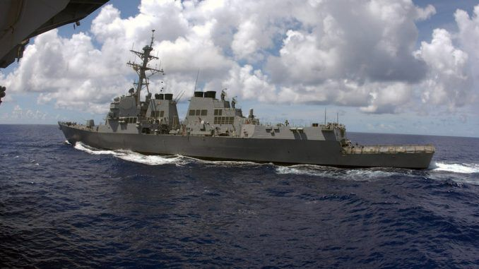 US sending warship to China islands amid escalation tension