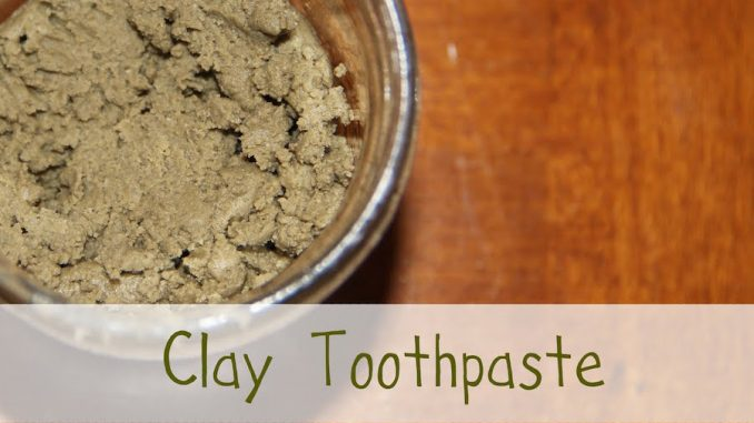 Why is clay becoming the number 1 alternative to conventional toothpaste?