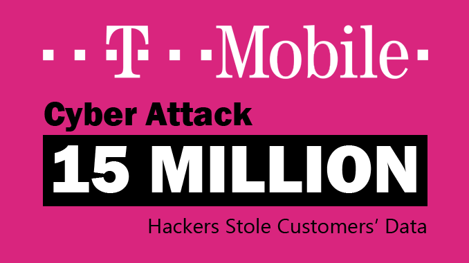 15 million US T-mobile customers have had their personal data breached by hackers
