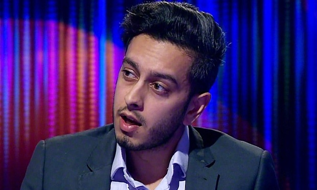 A BBC Newsnight journalist has had his laptop seized by police under 'anti-terrorism' laws