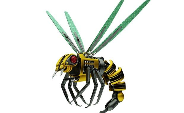 New killer robot bees have been developed to replace natural bees