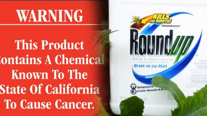 Monsanto have threatened to sue California for saying that their herbicide 'Roundup' is carcinogenic