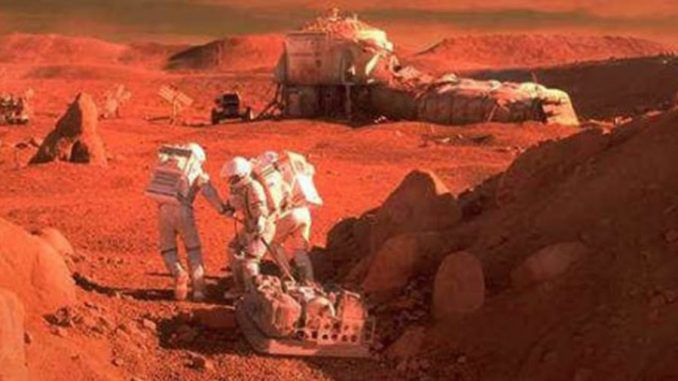 Did NASA go to Mars in a manned mission in 1979?