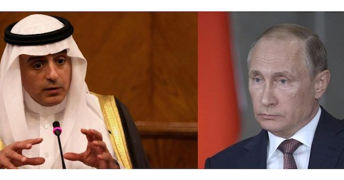Saudi Arabia call Russia's war against ISIS 'dangerous'
