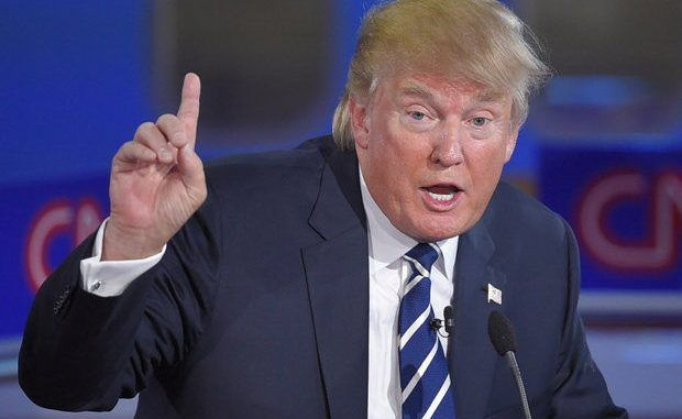 Donald Trump has said that the stock market bubble is about to burst