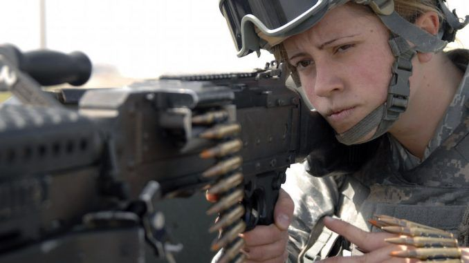 The U.S. Army have said that women will have to be drafted under new equality laws
