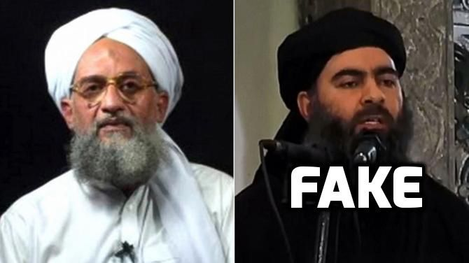 Al-Qaeda leader says that ISIS chief is actually a Mossad agent, in a rare interview