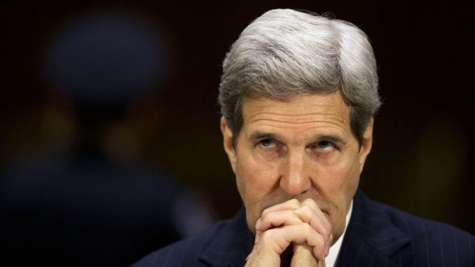 John Kerry says that global warming deniers must be silenced