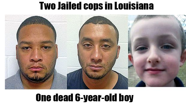 Louisiana police officers
