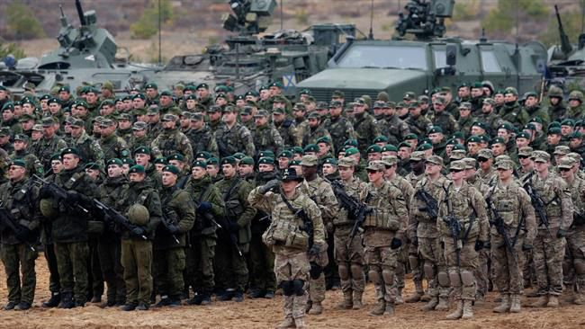 NATO threaten Russia with deploying stations around its borders to counter the Russian 'threat'