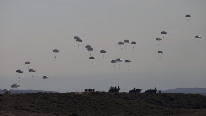 NATO show off their military might to intimidate Russia