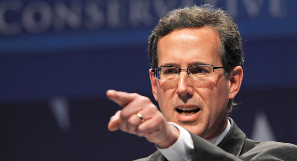 Rick Santorum says that the USA invented ISIS and that they are responsible for the false-flag Paris attacks