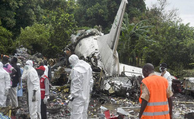 Another Russian plane crash kills 41 people in South Sudan
