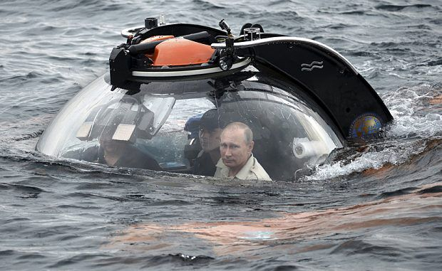 A Russian submarine has been sighted off the coast of Scotland, RAF deployed