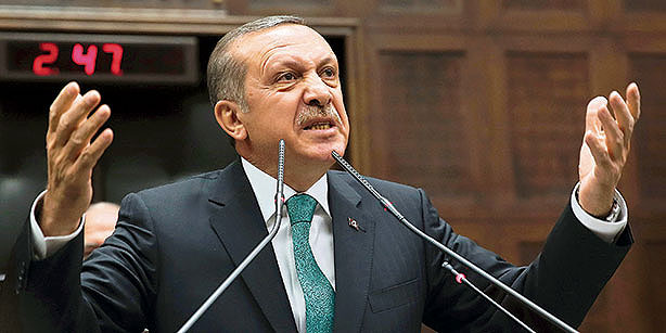 Turkey's president says that they will continue to shoot down planes that violate Turkish airspace