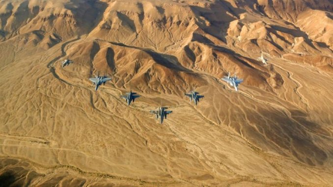 US and Israel 'coincidentally' conducted war game exercises in the same area that the crashed Russian plane disappeared from the radar