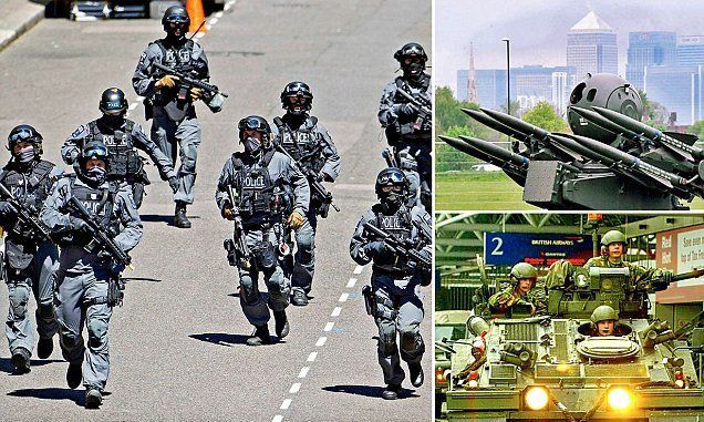 Britain to deploy 10,000 troops to the UK streets to protect against terrorism threat