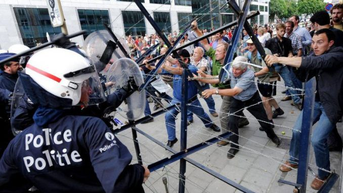 Civil war may be coming to Europe, warns a researcher