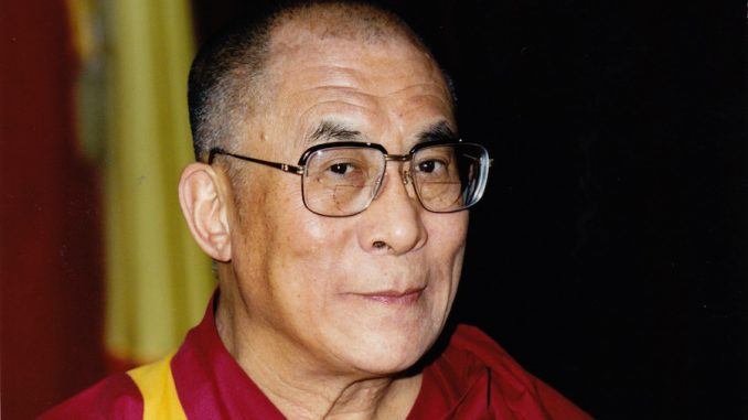 "The Dalai Lama has urged the world to ""stop praying for Paris"""
