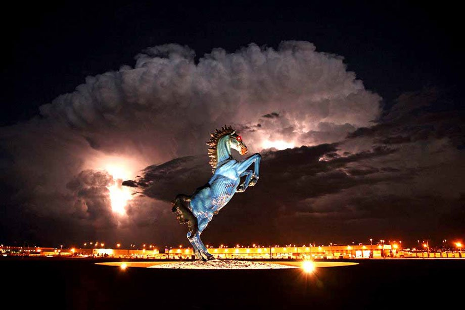 Denver International Airport Mustang sculpture