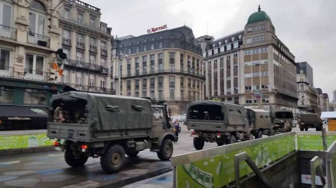 Europe is turning into a militarised concentration camp as martial law is declared in both France and Belgium