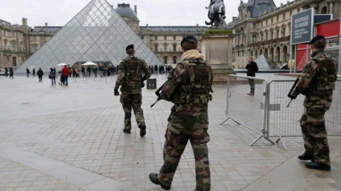 The French army have been mobilised amid a heightened risk of a chemical attacks by ISIS