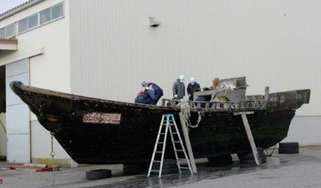 Japan authorities investigate ships containing dead bodies washing up ashore