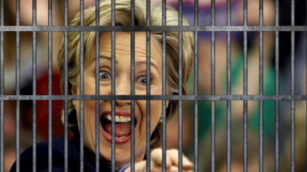 Donald Trump has said that fellow Presidential candidate, Hillary Clinton, wants to be POTUS just so she can keep out of jail