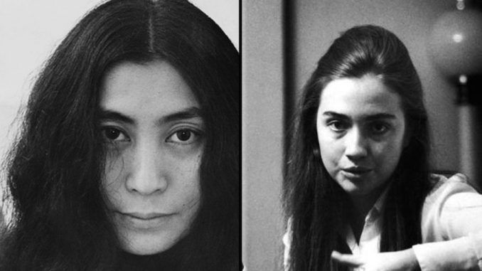 Yoko Ono claims she slept with Hillary Clinton in the 1970's