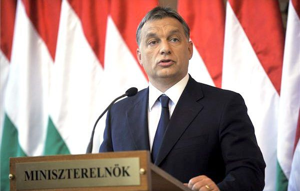 The Hungarian Prime Minister has referred to the European elite as 'traitors'