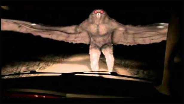 Does this video show the legendary 'mothman' in Argentina?