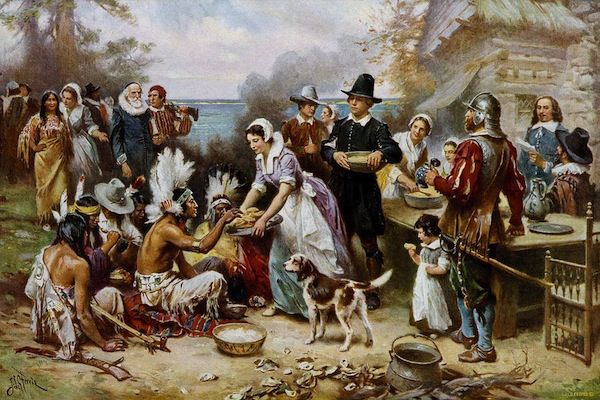 The traditional view of Thanksgiving