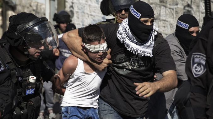 Israel have arrested 1200 Palestinian children in the month of October alone