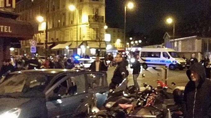 An explosion in Paris kills 26 at a restaurant, suspected gunman on the scene