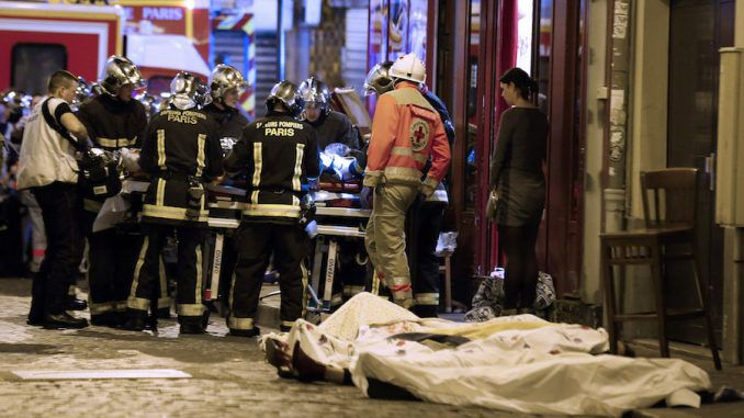 Russia say the Friday 13th Paris attacks were a 'masonic ritual' designed to usher in World War 3