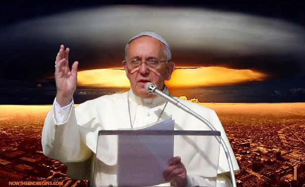 Pope Francis has warned that Christians must 'be ready' for the apocalypse