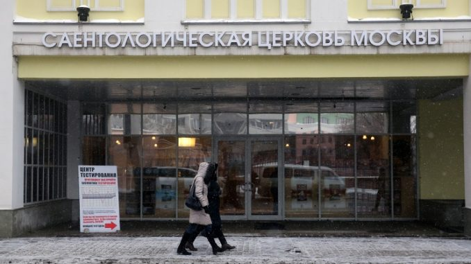 Russia have banned the Church of Scientology